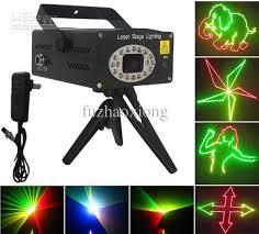 best selling cg d010 anime mini laser stage lighting disco light