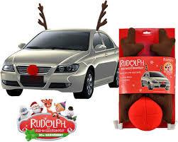 reindeer car rudolph the nose reindeer car costume in creative keychain