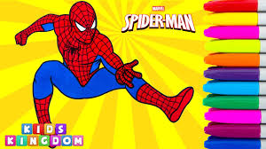 spiderman coloring book episode marvel superheroes colouring pages