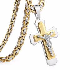 cross jesus necklace images Cross christ jesus pendant necklace knights templar world jpg
