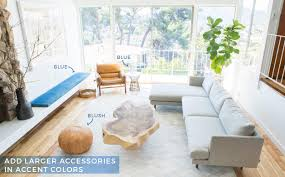2 couches in living room how to add style to a neutral living room emily henderson