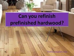 Wood Floor Refinishing In Westchester Ny What If You A Prefinished Floor Can You Refinish