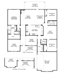 New Homes Floor Plans The Zinnia Seven Oaks New Home Floor Plan Burleson Texas