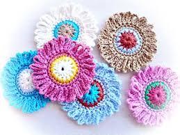 Crochet Designs Flowers 1042 Best Crochet Flowers Hearts U0026 Appliques Images On