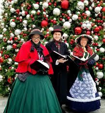 christmas carolers christmas carolers 42nd st singers christmas carolers