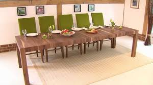 Dining Room Tables With Extensions Rectangular Extending Table Youtube