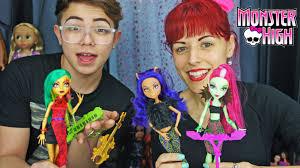 Clawdeen Monster High Halloween Costume by Monster High Fierce Rockers Clawdeen Venus And Jinafire Doll