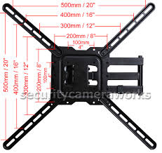 Wall Mount For 48 Inch Tv Articulating Lcd Led Plasma Tv Wall Mount 29 32 39 40 42 46 47 48