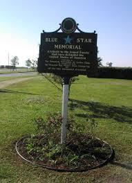 memorial markers blue memorials pensacola federation of garden clubs