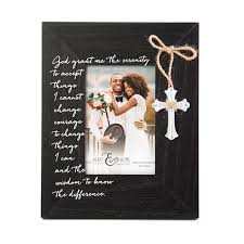 serenity prayer picture frame new view serenity prayer frame 8x10 boscov s