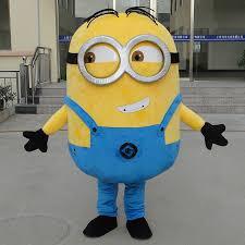 Minion Halloween Costume Adults Buy Wholesale Minion Mascot Costume China Minion