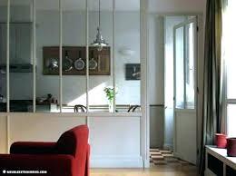 cloison cuisine salon cuisine avec vitre cloison vitree cuisine salon separation cuisine