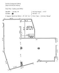 maps and floorplans gordon snelgrove gallery university of