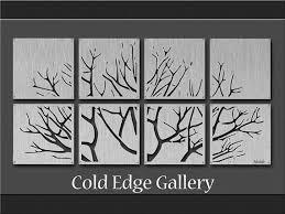 Ribbon Metal Wall Decor Best 25 Large Metal Wall Art Ideas On Pinterest Metal Wall Art