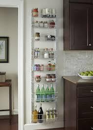 over the door storage rack basket shelf kitchen organizer wall