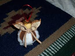 cotton boll angel ornament i have had one of these for at least