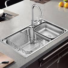 Single Kitchen Sinks Sinks Amusing Drop In Kitchen Single Pertaining To Bowl Ideas 7