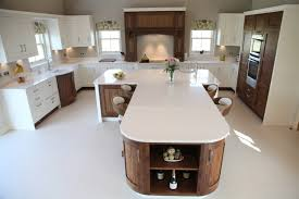kitchen centre island walnut open plan kitchen designs bespoke kitchens