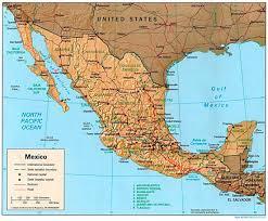 Rosarito Mexico Map by Vygogo Baja Mexico Map Full Size