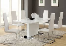 coaster dining room furniture nameth dining table 102310 by coaster w optional white chairs