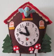 Cuckoo Clock Kit Felt Cuckoo Clocks Recherche Google Couture Pinterest