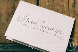 wedding card to your or groom i loved you for