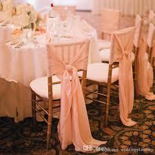 chiffon chair sash 2018 newest chiffon chair sash simple chair covers for weddding