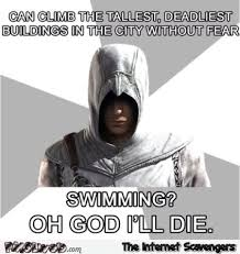 Assassins Creed Memes - funny assassin s creed logic meme pmslweb