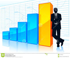 growing chart successful businessman stock image image of businessman 31360679