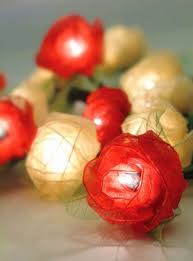 Flower String Lights by Beautiful Lighting Design For Home Decorative String Lights By Om