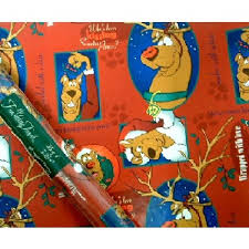 scooby doo wrapping paper wholesale christmas gift wrap scooby doo sku 248735 dollardays
