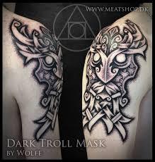 dark troll mask by uffeberenth on deviantart