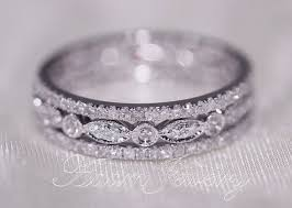 wedding bands for and 40 gorgeous wedding bands for 30th white gold wedding
