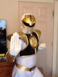 Power Rangers Halloween Costumes Adults White Power Ranger Costume Unboxing Review Aniki Cosplay