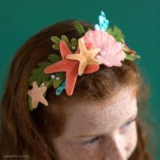 felt headbands no sew felt mermaid headband lia griffith