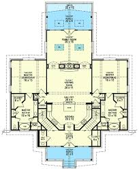 dual master suite house plans design ideas rambler house plans with two master suites 11