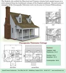 cottage plans 611 sq ft factory built panels chesapeake tidewater cottage