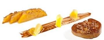 cours de cuisine landes escalope de foie gras des landes mangue rôtie au gingembre et