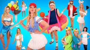 Diy Halloween Group Costumes 20 Diy Halloween Costumes 2017 Alisha Marie Youtube