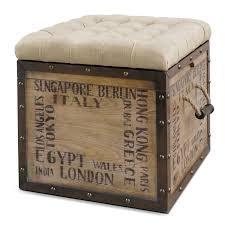 Narrow Storage Ottoman Sofa Storage Ottoman Leather Cube Ottoman Storage Stool