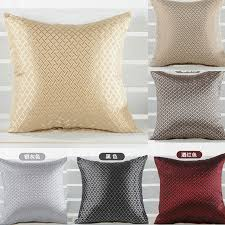 shiny decorative pillow covering throw sofa seat car cushion cover