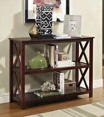 Entrance Table by Wooden 2 Tier Classic Charcoal Entrance Foyer Console Table Wd
