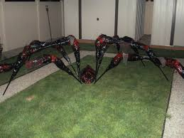 prop showcase my first giant spider the zombies are coming