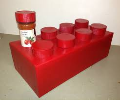 lego brick spice rack 13 steps with pictures