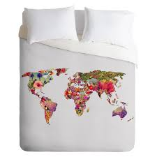 Map Bedding 20 Awesome Dorm Room Bedding Ideas Teen Vogue