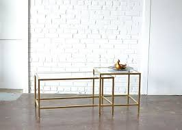 gold and glass table 42 best tables eclectic vintage rentals images on pinterest
