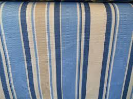Upholstery Denim Bold Navy Denim Cornflower Blue Kahaki Woven Stripe Upholstery