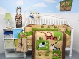 crib bedding set giraffe