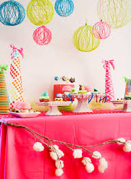 Party Chandelier Decoration Diy Tutorial Creative Yarn Chandelier Hostess With The Mostess