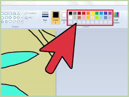 how to use color replacement in ms paint vripmaster